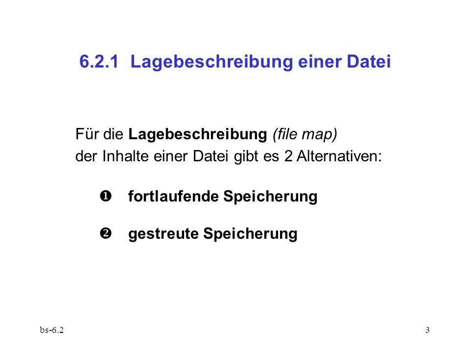 6.2.1 Lagebeschreibung einer Datei