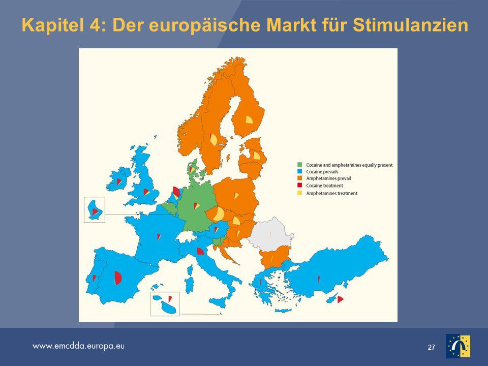 Kapitel 4: Der europäische Markt für Stimulanzien