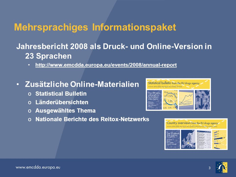 Mehrsprachiges Informationspaket