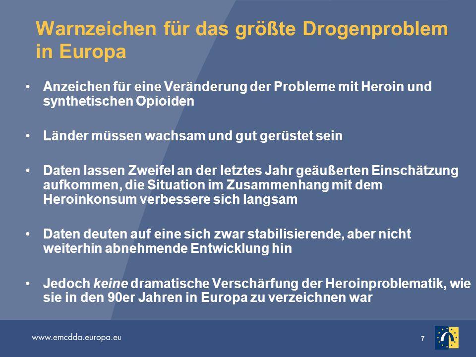 Warnzeichen für das größte Drogenproblem in Europa