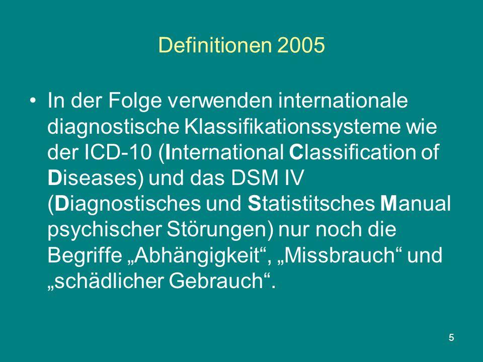 Definitionen 2005