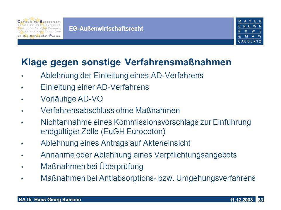 EG-Außenwirtschaftsrecht