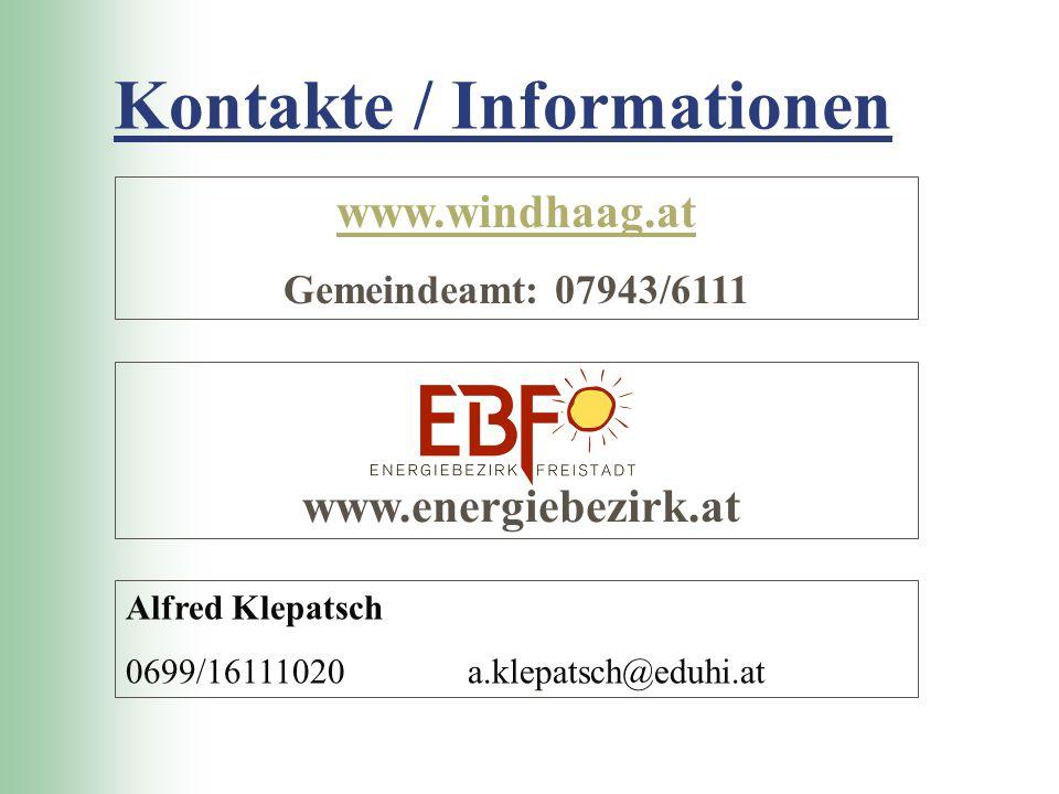 Kontakte / Informationen