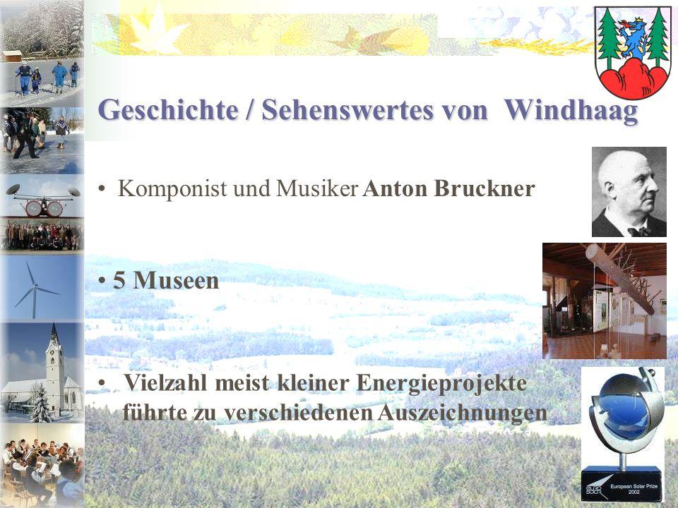 Geschichte / Sehenswertes von Windhaag