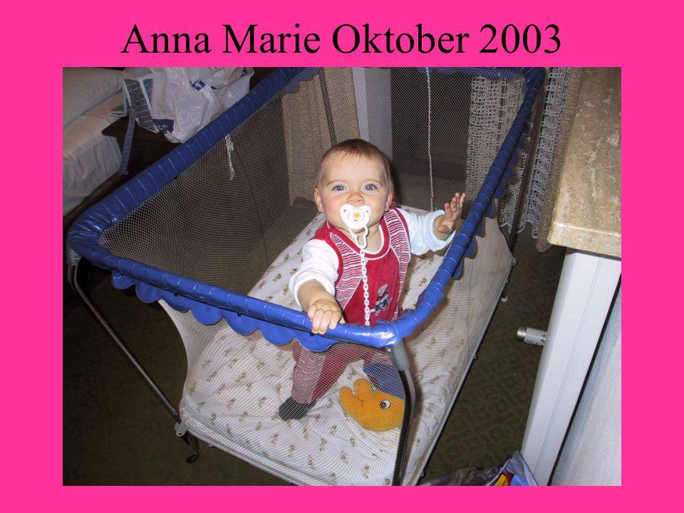 Anna Marie Oktober 2003