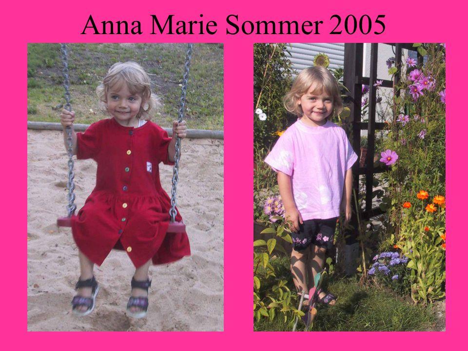 Anna Marie Sommer 2005