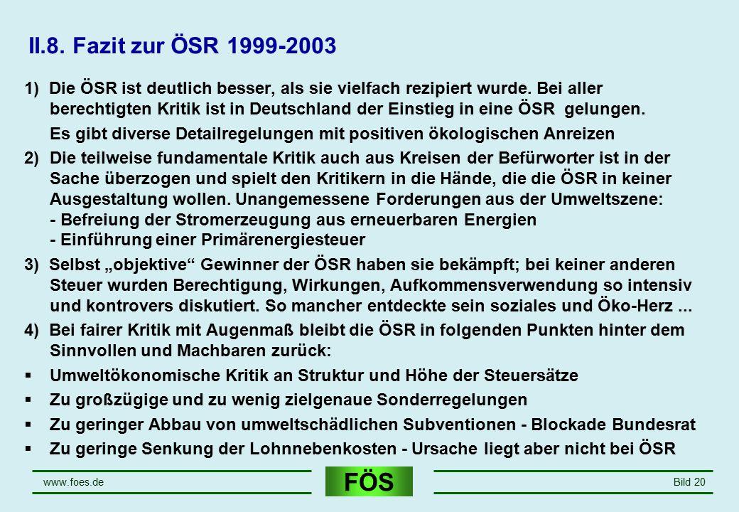 April 17 II.8. Fazit zur ÖSR 1999-2003.
