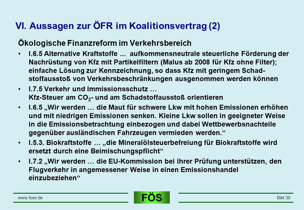 VI. Aussagen zur ÖFR im Koalitionsvertrag (2)