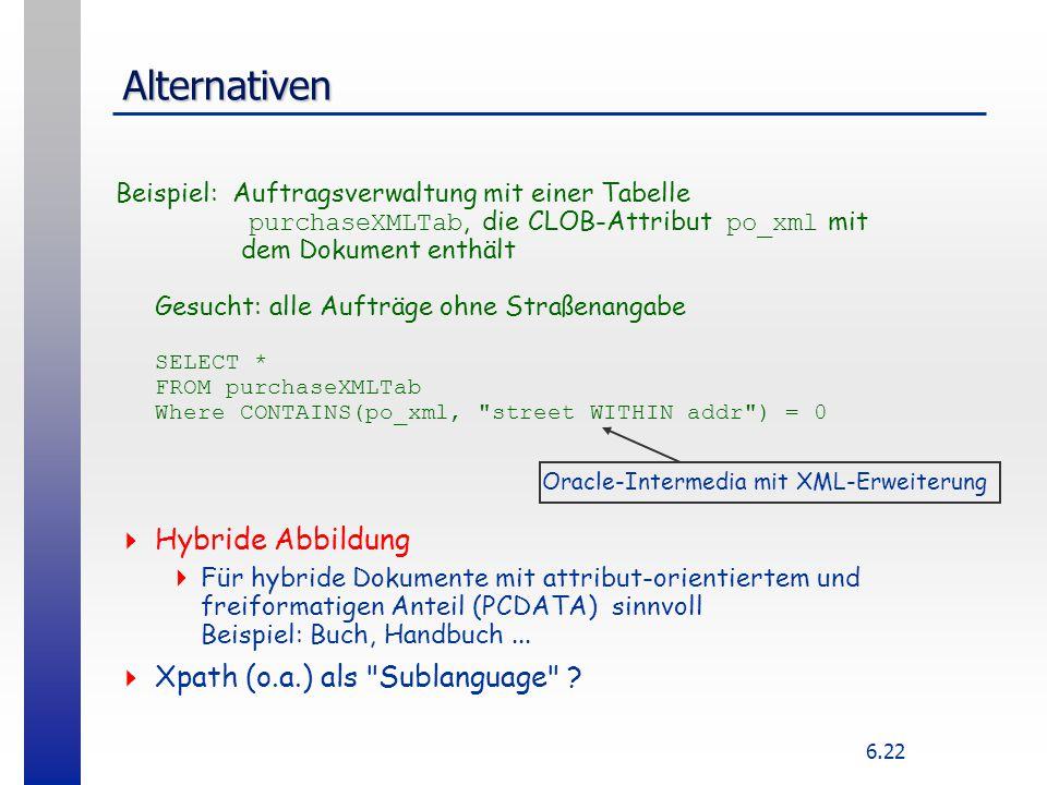 Oracle-Intermedia mit XML-Erweiterung