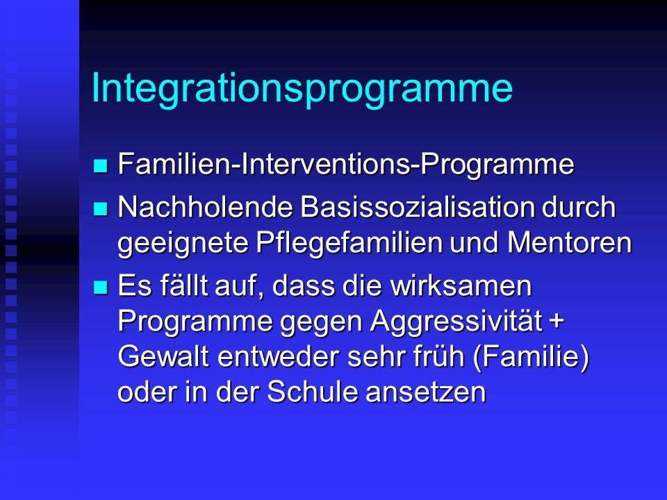 Integrationsprogramme