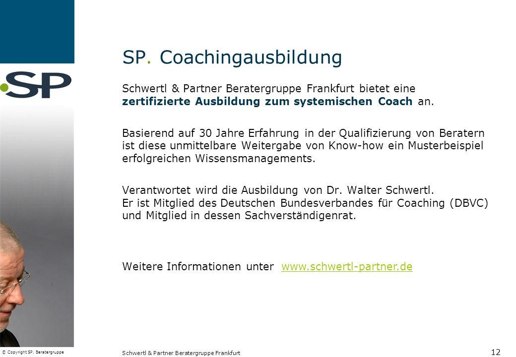 SP. Coachingausbildung