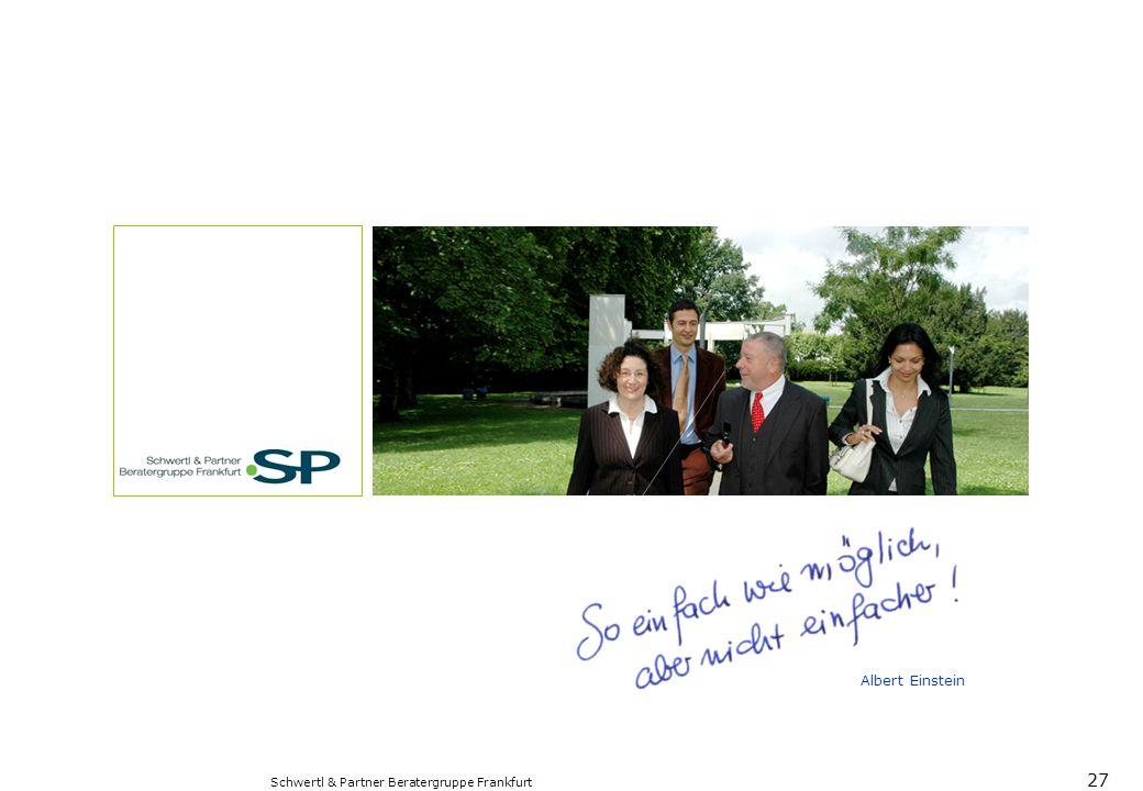 Albert Einstein Schwertl & Partner Beratergruppe Frankfurt