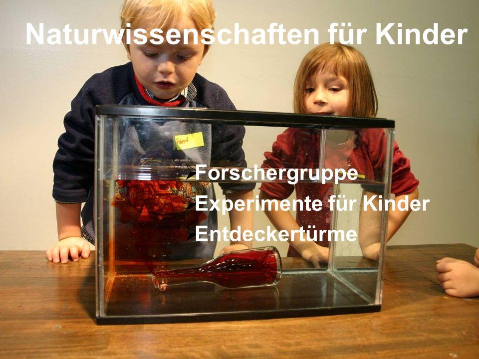 Naturwissenschaften für Kinder