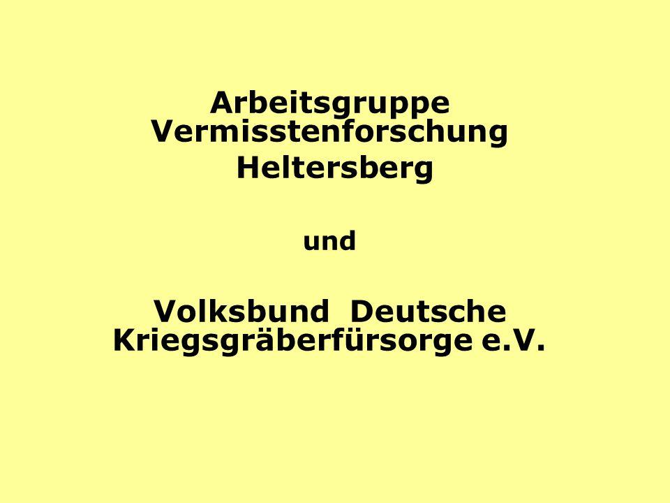 Arbeitsgruppe Vermisstenforschung Heltersberg