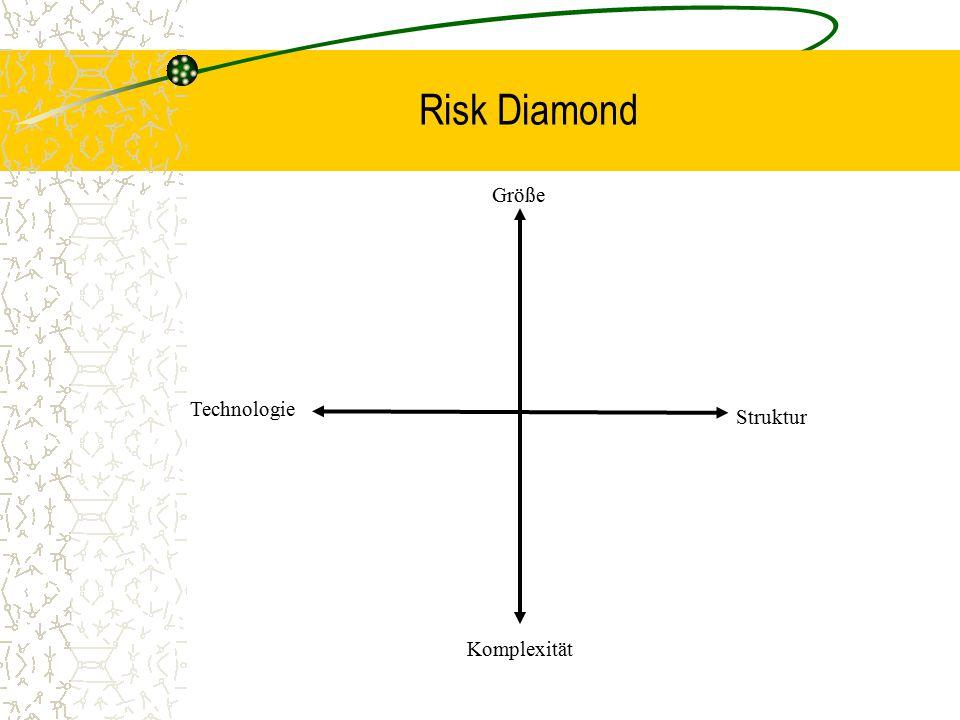 Risk Diamond Größe Technologie Struktur Komplexität