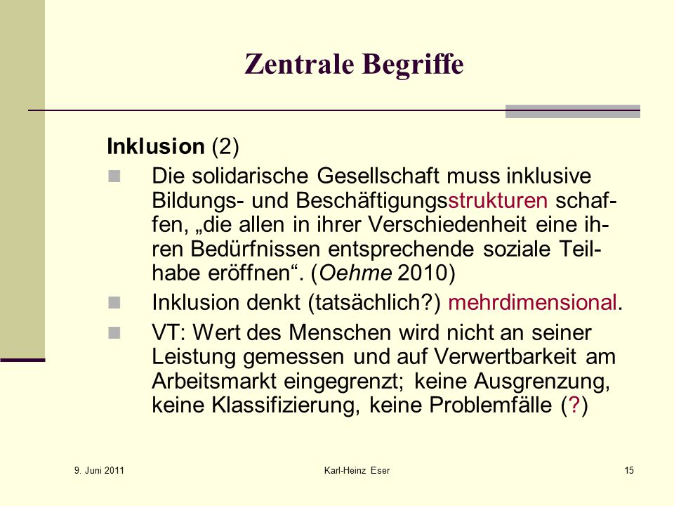Zentrale Begriffe Inklusion (2)