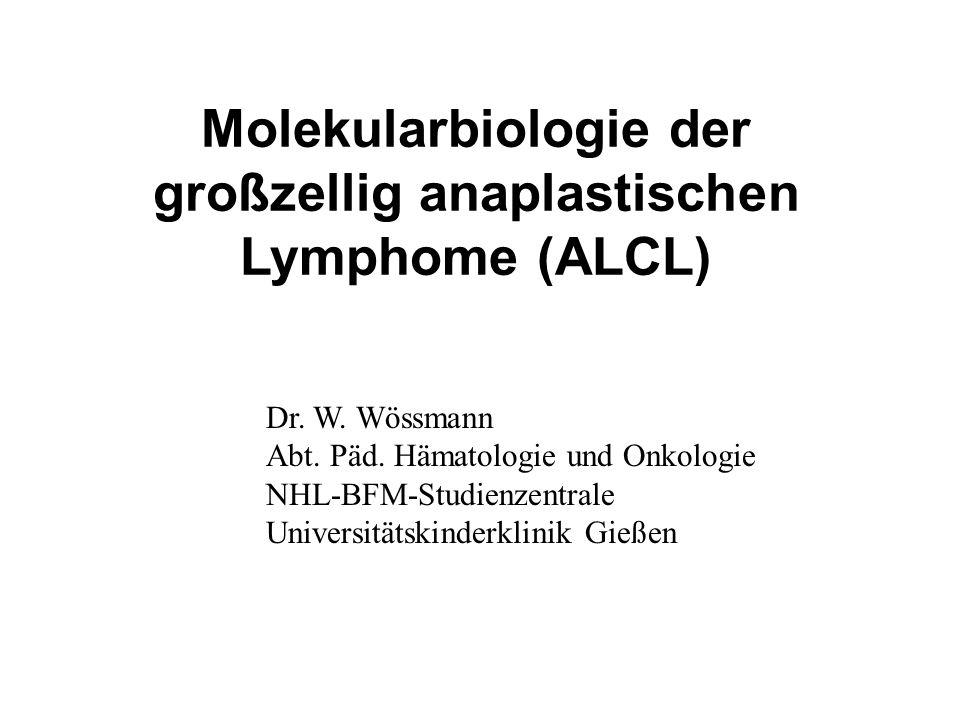 Molekularbiologie der großzellig anaplastischen Lymphome (ALCL)
