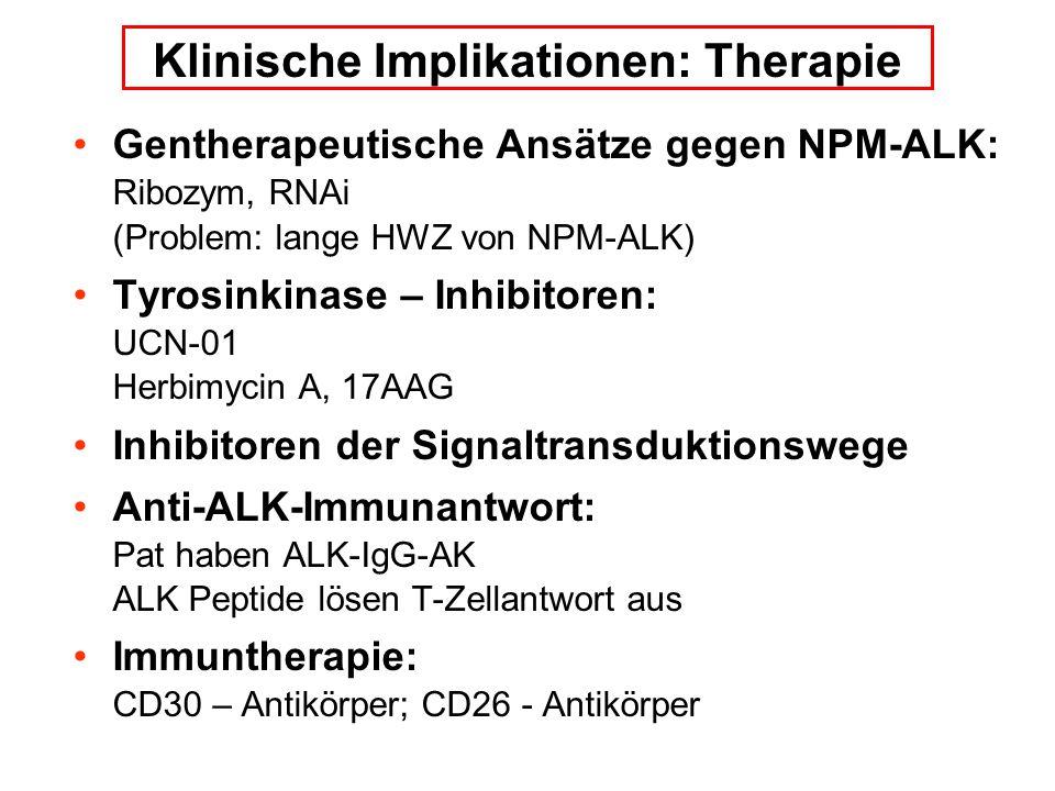 Klinische Implikationen: Therapie