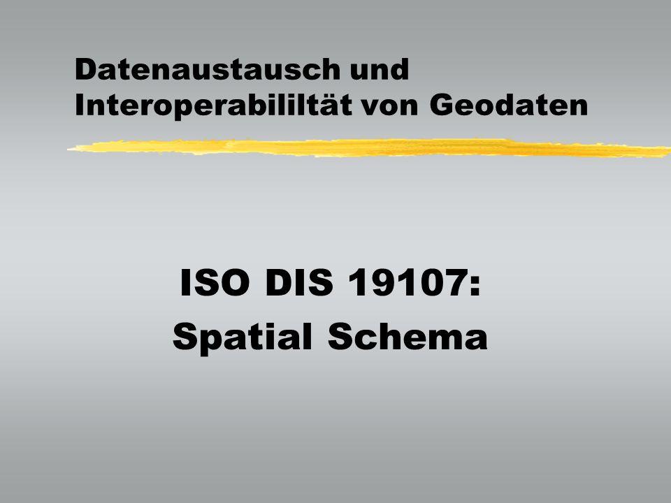 Datenaustausch und Interoperabililtät von Geodaten