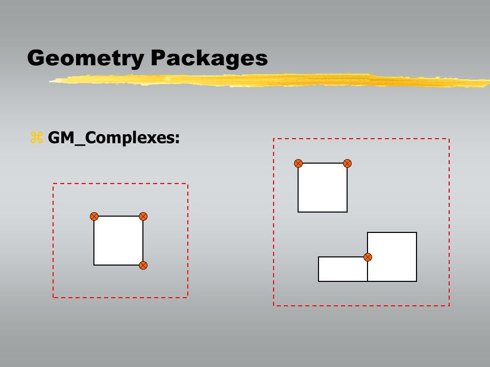 Geometry Packages GM_Complexes: