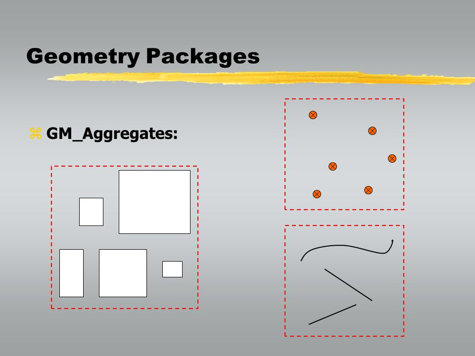 Geometry Packages GM_Aggregates:
