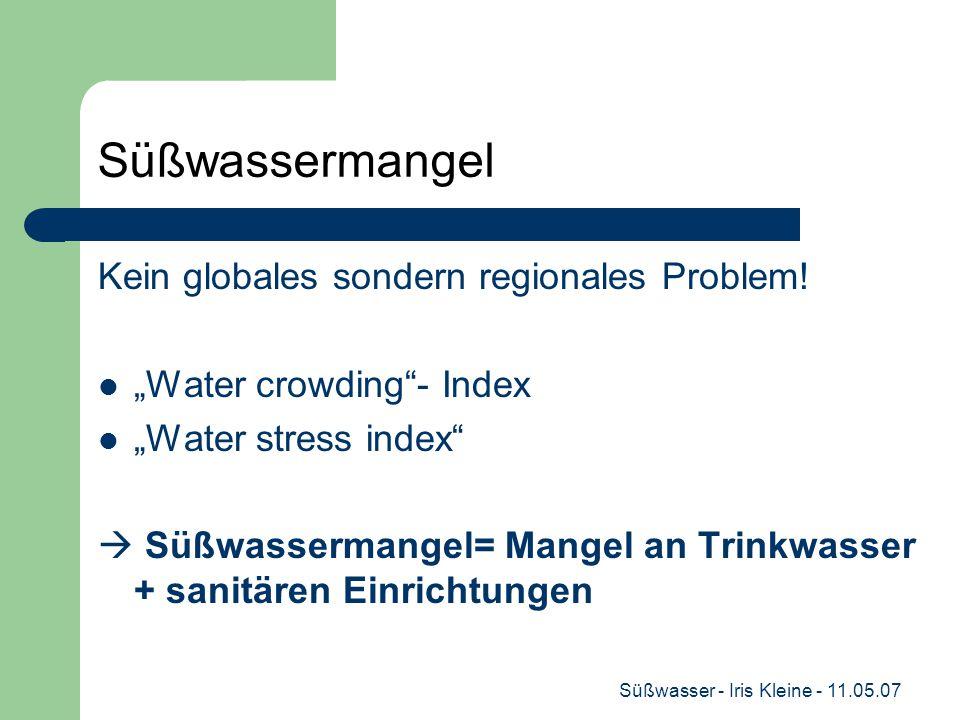 Süßwasser - Iris Kleine - 11.05.07