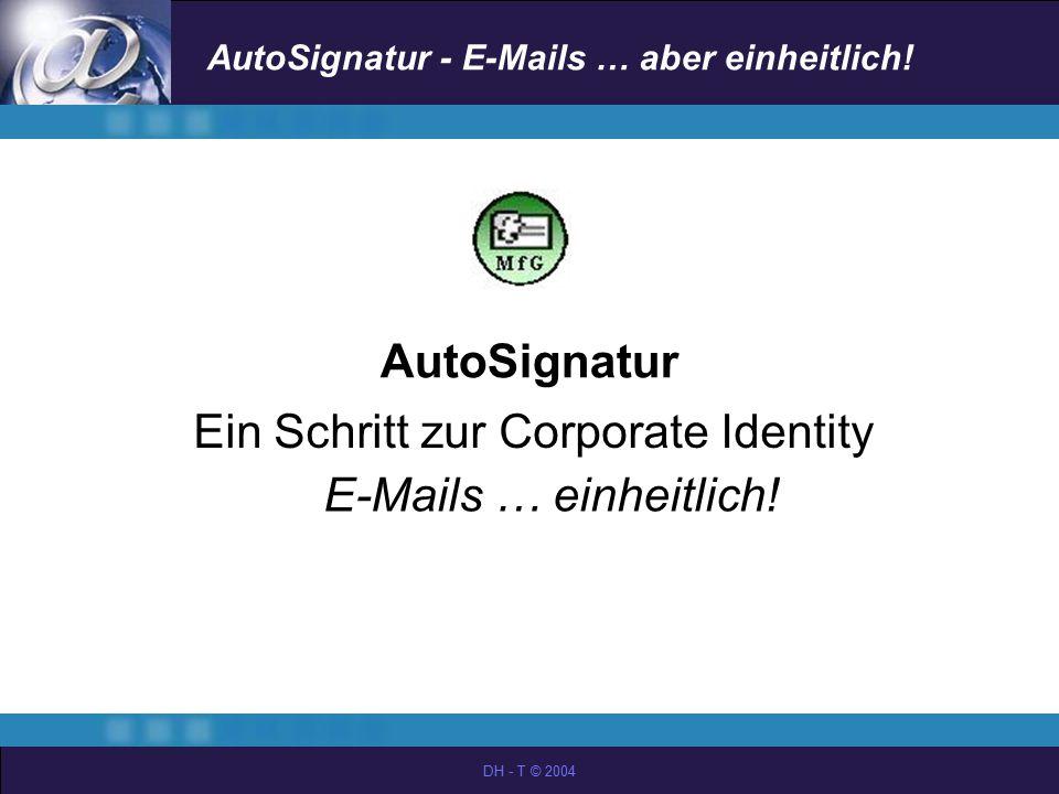Ein Schritt zur Corporate Identity