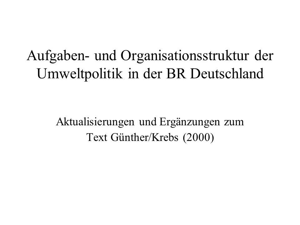 Aktualisierungen und Ergänzungen zum Text Günther/Krebs (2000)