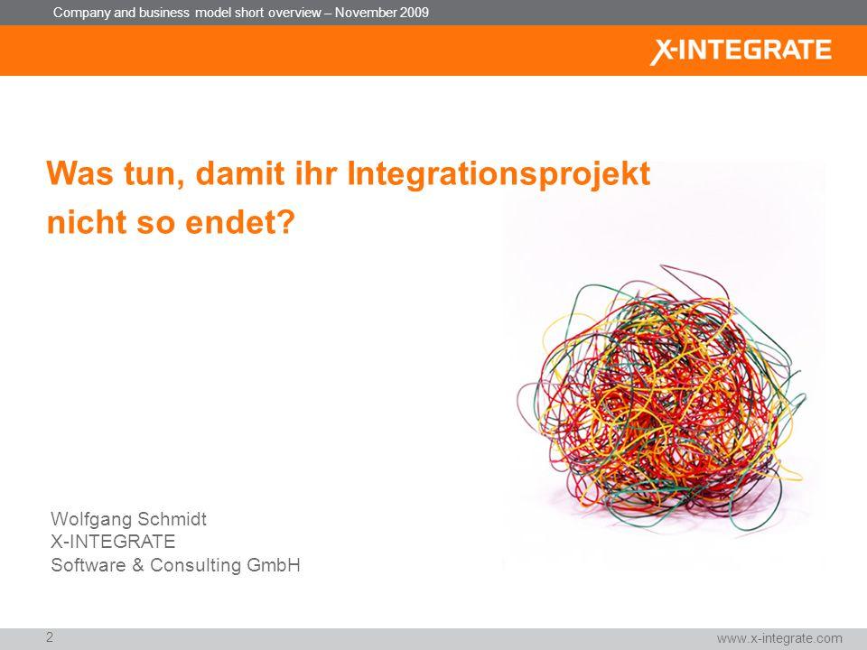 Was tun, damit ihr Integrationsprojekt nicht so endet