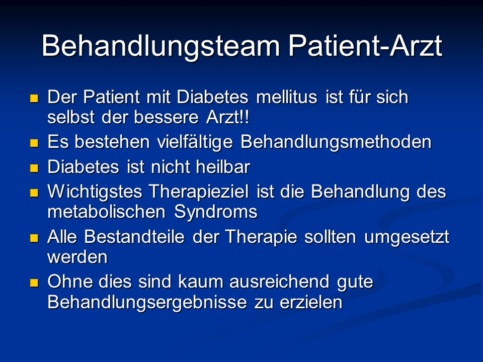 Behandlungsteam Patient-Arzt