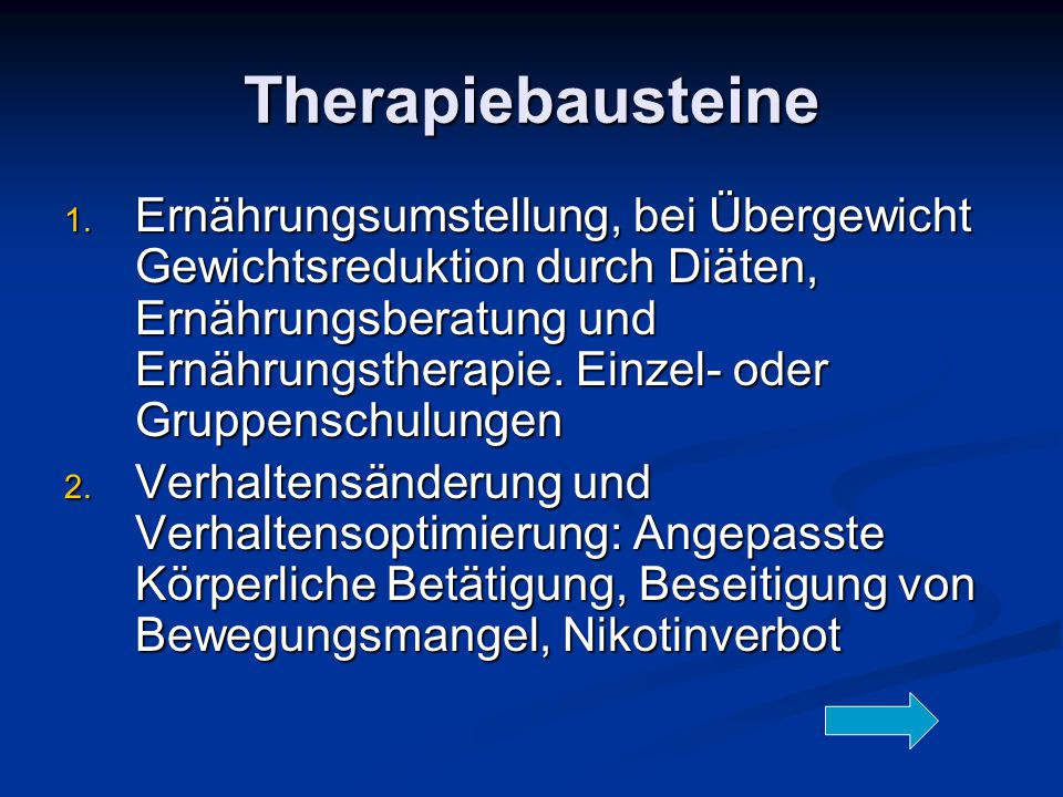 Therapiebausteine