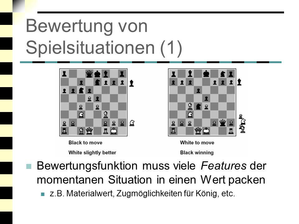 Bewertung von Spielsituationen (1)