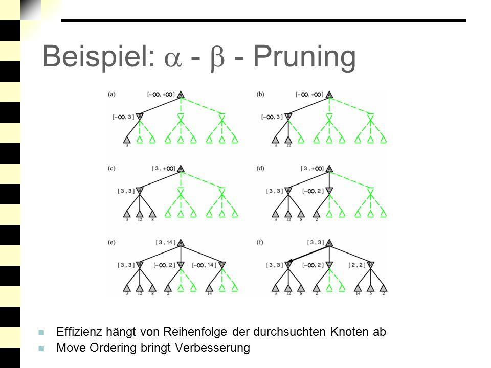 Beispiel:  -  - Pruning