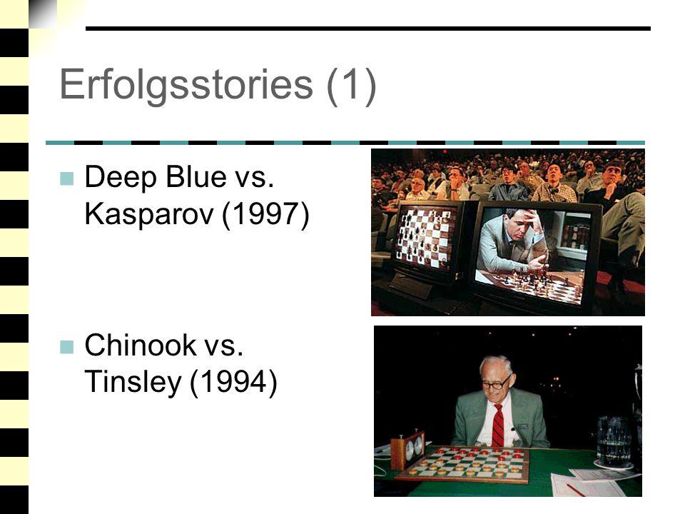 Erfolgsstories (1) Deep Blue vs. Kasparov (1997)