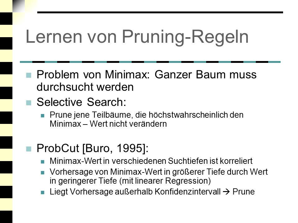 Lernen von Pruning-Regeln