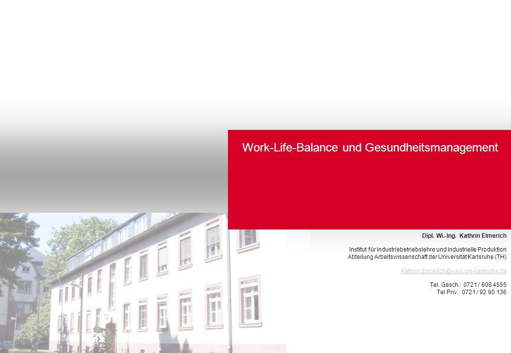 Work-Life-Balance und Gesundheitsmanagement