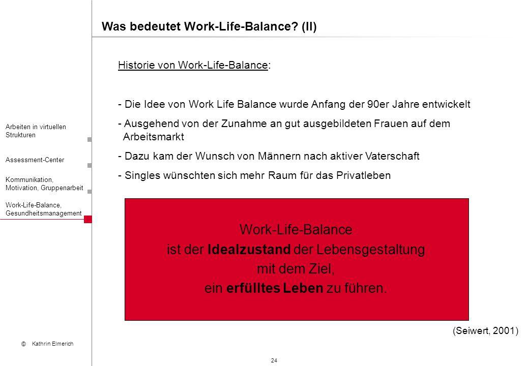 Work-Life-Balance ist der Idealzustand der Lebensgestaltung
