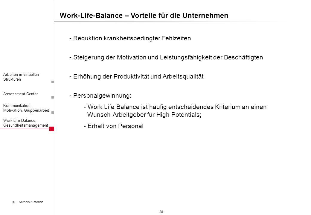 Work-Life-Balance – Vorteile für die Unternehmen