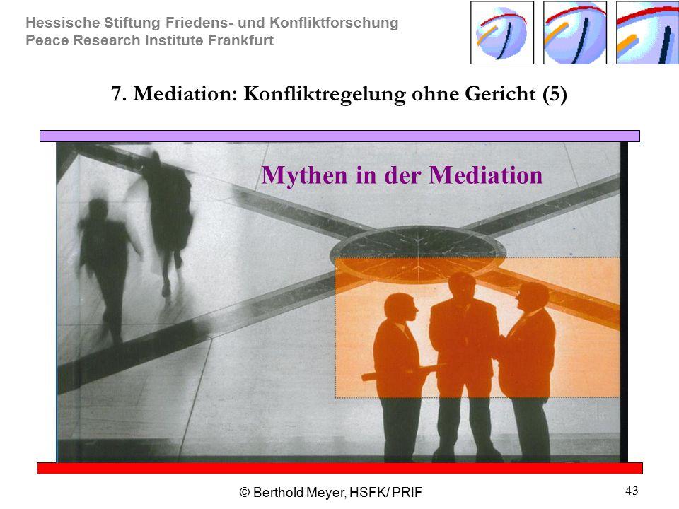 7. Mediation: Konfliktregelung ohne Gericht (5)