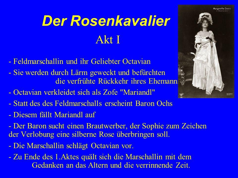 Der Rosenkavalier Akt I - Feldmarschallin und ihr Geliebter Octavian