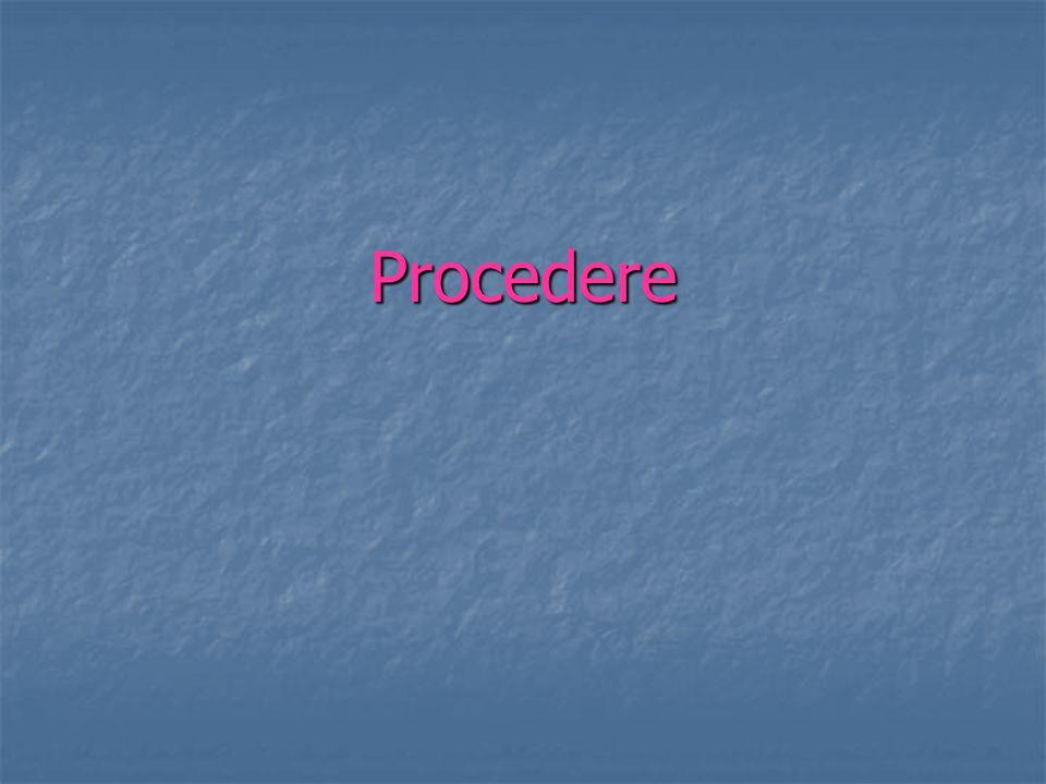 Procedere
