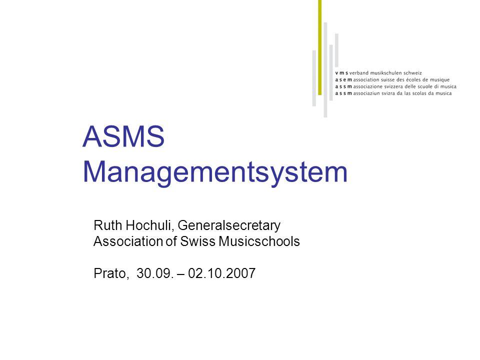 ASMS Managementsystem