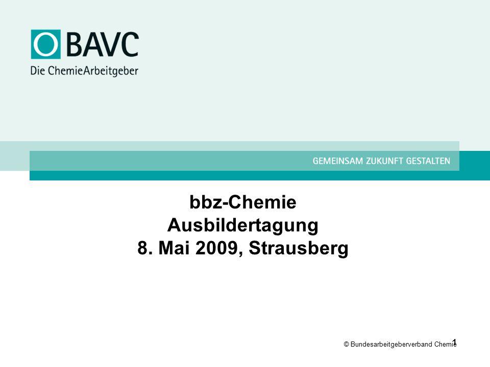 bbz-Chemie Ausbildertagung 8. Mai 2009, Strausberg