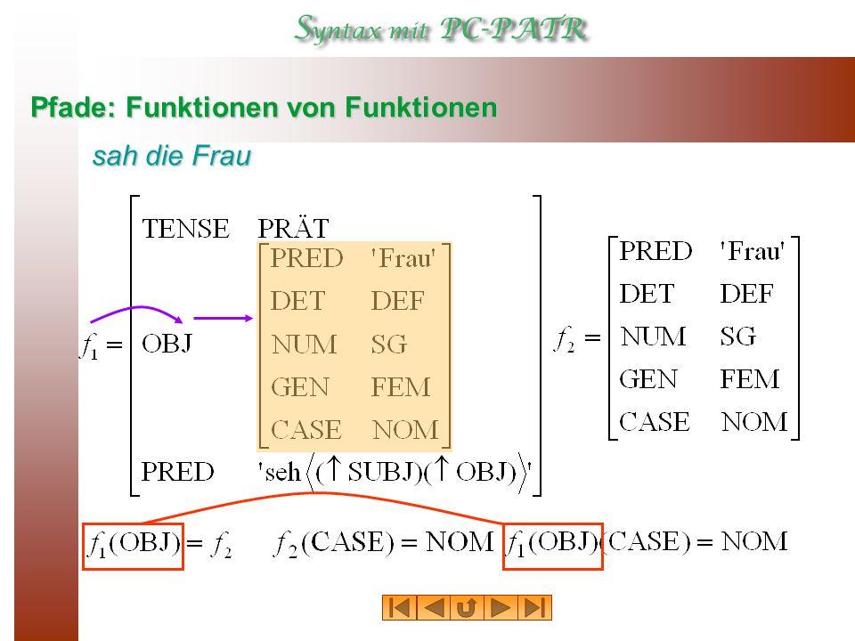 Pfade: Funktionen von Funktionen