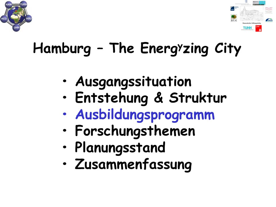 Hamburg – The Energyzing City