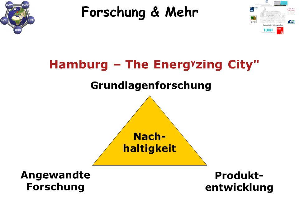 Forschung & Mehr Hamburg – The Energyzing City Grundlagenforschung