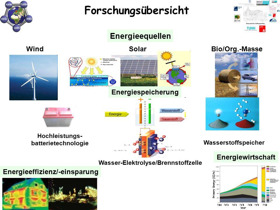 Wasser-Elektrolyse/Brennstoffzelle