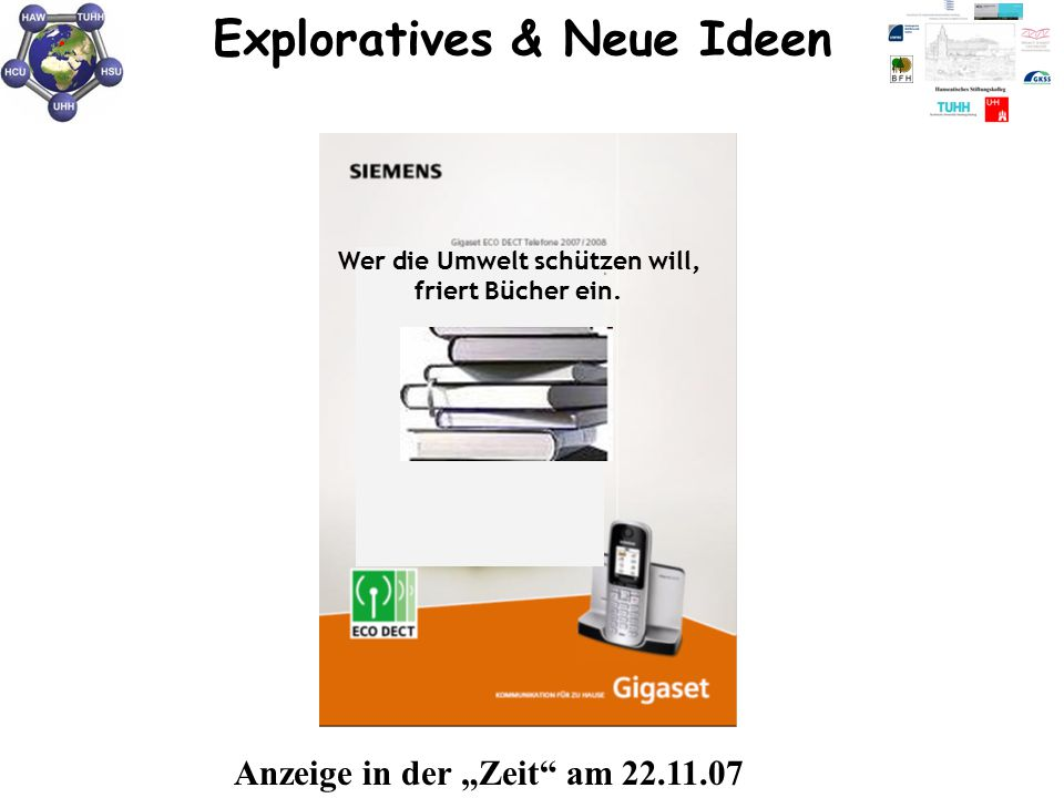 Exploratives & Neue Ideen