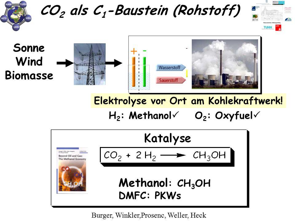 CO2 als C1-Baustein (Rohstoff)