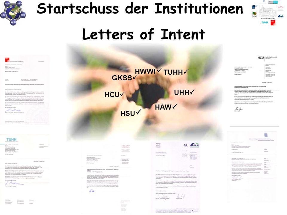 Startschuss der Institutionen